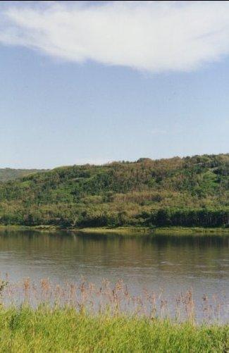 La rivière La Paix.