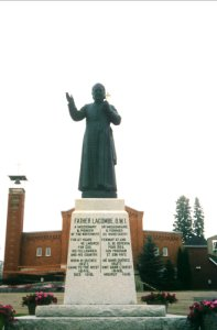 Statue of Father Albert Lacombe