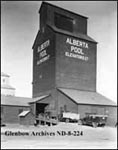 An Alberta Wheat Pool Grain Elevator