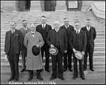Premier Aberhart and Cabinet, 1935