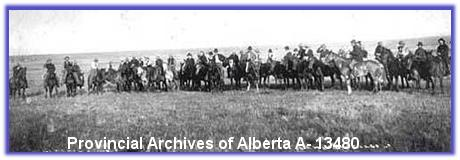 Ranchers in Alberta