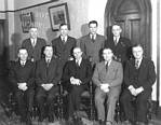 Manning and his new cabinet, 1943