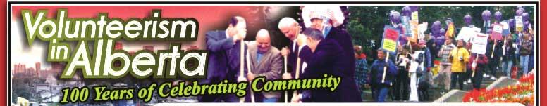 Volunteerism in Alberta: 100 years of Celebrating Community