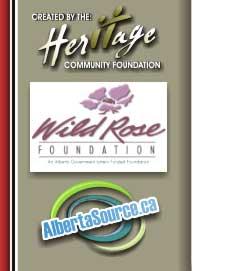 Heritage Community Foundation, Wild Rose Foundation and Albertasource.ca