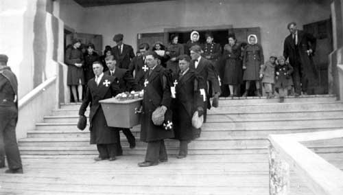 Lucien Martin's Funeral (military)