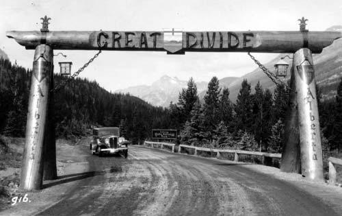 Great Divide, Alberta and British Columbia