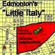 "Edmonton's ""Little Italy"" is located in the inner-city neighbourhood of McCauley.  Artwork by the Heritage Community Foundation."