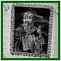 Banner of Ste. Anne, Mother of Mary, July 1995 'Bonne Ste. Anne Priez Pour Nous': The patron saint of Trochu's early settlers in the trials of geography, climate, sickness and isolation.