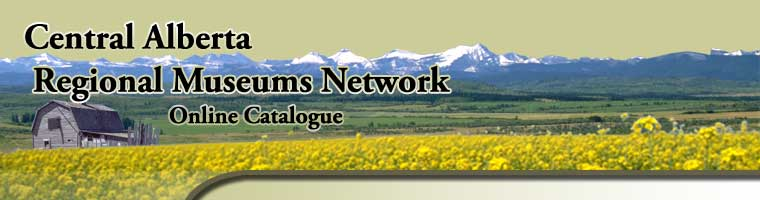 Central Alberta Regional Museums Network Online Catalogue