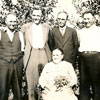 Lisa Oro with her five sons; Otto, Oscar, Alex, Mike and Martin