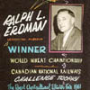 Ralph Erdman, World Wheat Growing Champion, 1961.He won the crown at the Royal Agricultural  Winter Fair in Toronto
