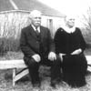 Jakob and Mari Erdman celebrate their 60th wedding anniversary in Barons, 1933