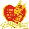 Barons Centennial logo