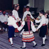 Young folkdancers