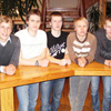 Estonian biathlon team in Canmore, Alberta