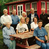 The Planning Group for the 1999 Stettler Estonian-Canadian Centennial met at the original Oro homestead near Stettler.