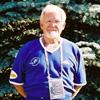 A volunteer at Athletics Championships