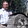 Ceremony at the original Estonian cemetery near Gilby