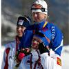 Estonian crosscountry skier and gold medal winner at Torino Winter Olympics, 2006