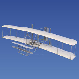 Image of Wright Flyer (1903) Laser Scan