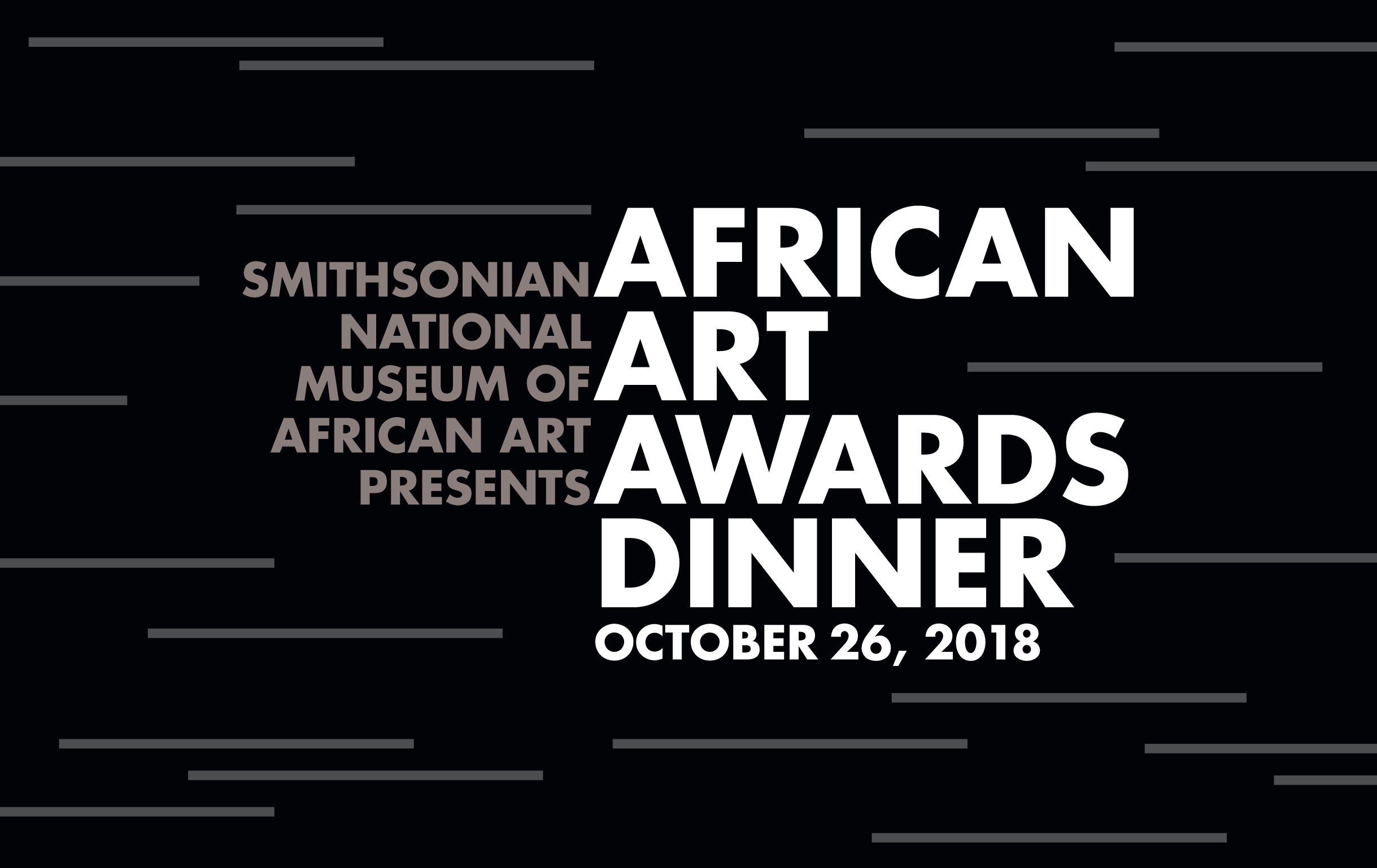 2018 African Arts Awards Dinner