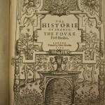 The Historie of France, by Lancelot-Voisin La Popelinière, 1596.