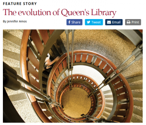 Evolution of Queen's Library