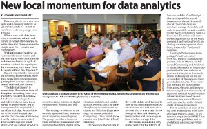 New local momentum for data analytics