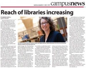 Reach of Libraries increasing