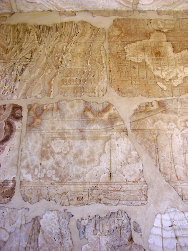 Photograph of Amenhotep I Calcite Chapel