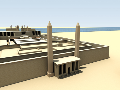 Rendering of Contra Temple