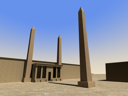 Rendering of Obelisk Unique