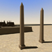 Image resource: Rendering of Obelisks at Contra Temple, by UCLA