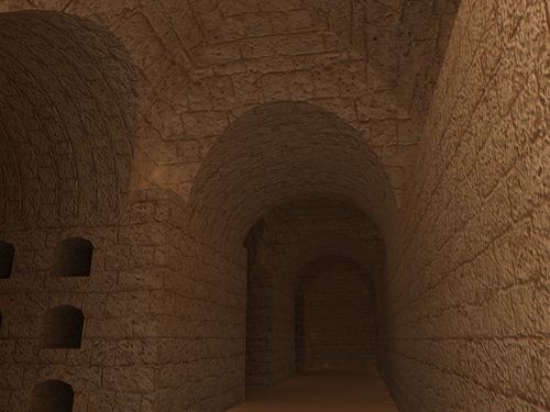 Rendering of Osiris Catacombs