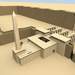 Image resource: Rendering of Ramesses II Eastern Temple, by UCLA