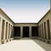 Image resource: Rendering of Ramesses III Temple, by UCLA