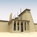 Image resource: Rendering of Thutmose III Shrine, by UCLA