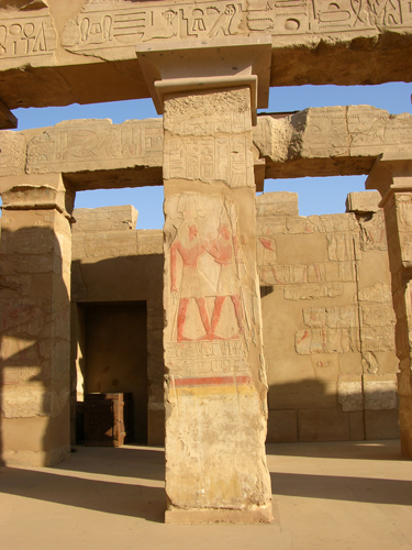 Photograph of Thutmose IV Peristyle Hall