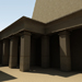 Image resource: Rendering of Thutmose IV Peristyle Hall, by UCLA