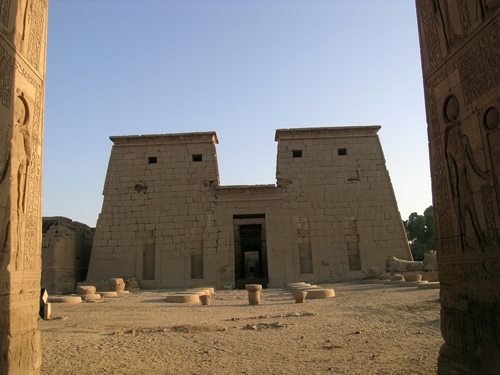 Photograph of Khonsu Temple