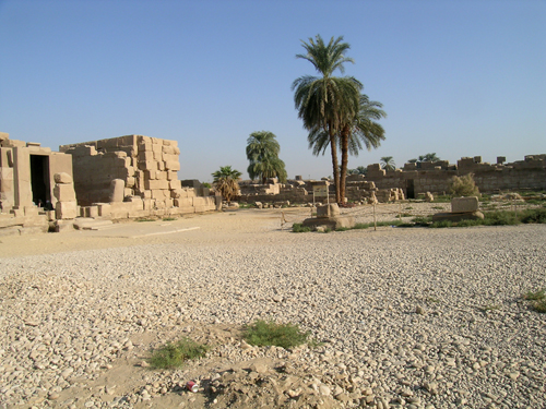Photograph of Middle Kingdom Court
