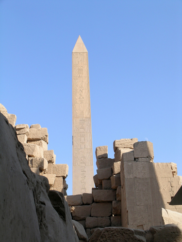 Photograph of Obelisks of Wadjet Hall
