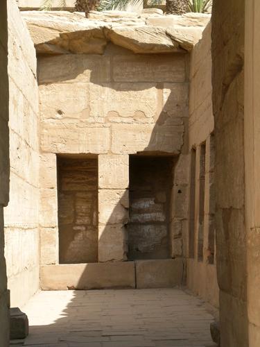 Photograph of Sety II Shrine