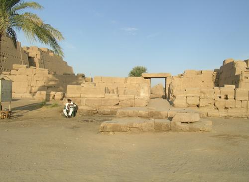 Photograph of Thutmose III Shrine
