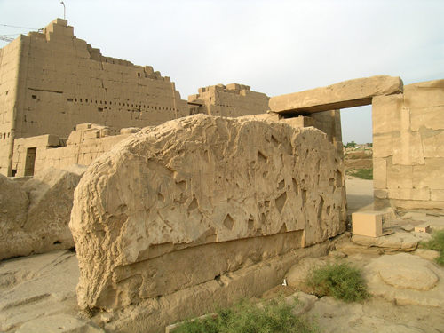 Photograph of Thutmose III Shrine