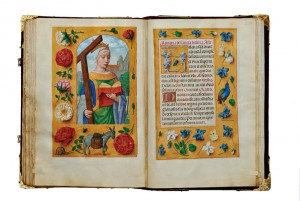 Exquisite design: Pages from the Rothschild Prayer Book.