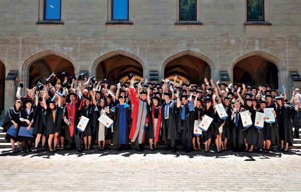 Graduating class of the Doctor of Veterinary Medicine Degree (DVM)