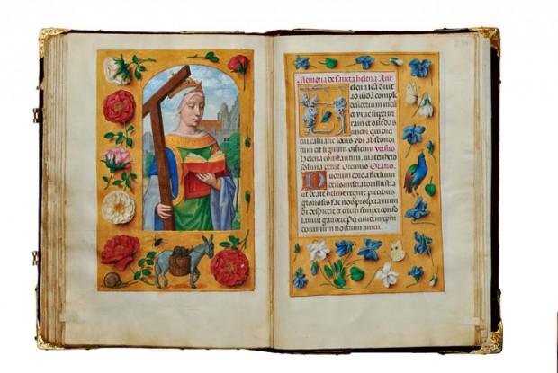 Rare prayer book goes on show