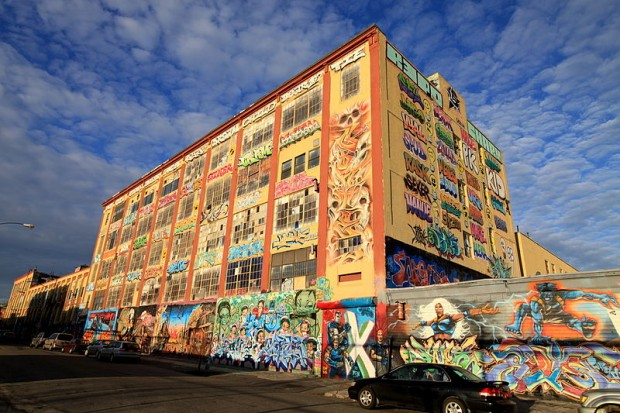 Five key moments in street art history