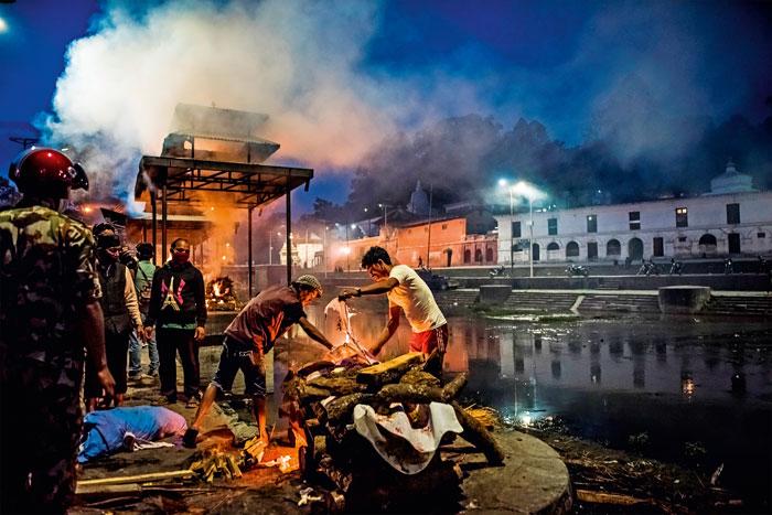 After the earthquake in Kathmandu